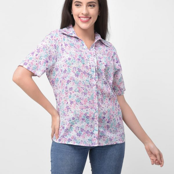 Women Printed Casual Shirt