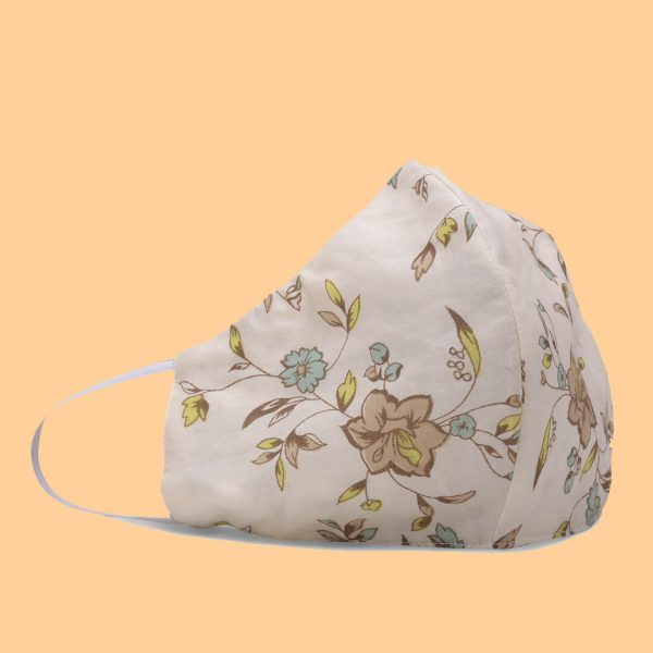 women printed cotton mask