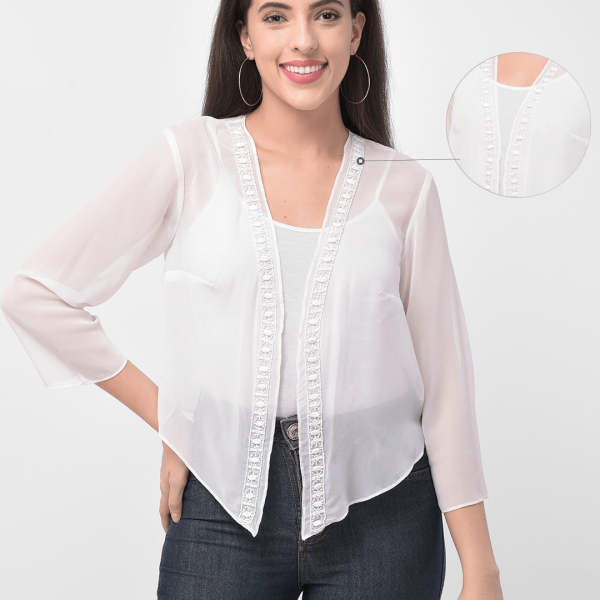 women white shrug by 250 designs
